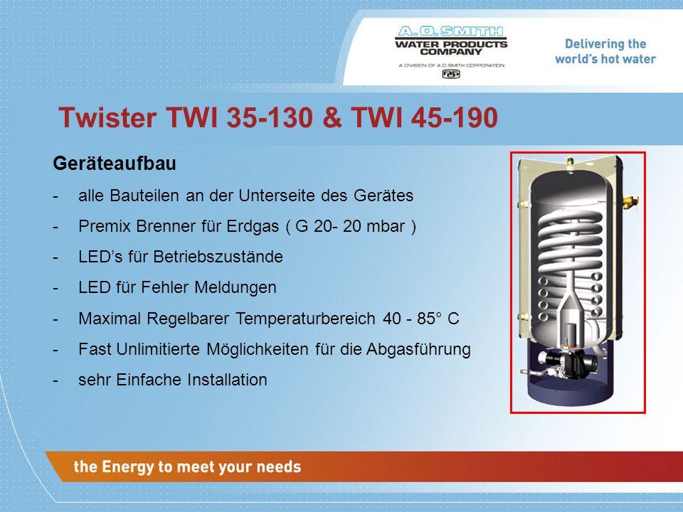 Twister TWI 35-130 & TWI 45-190 Geräteaufbau