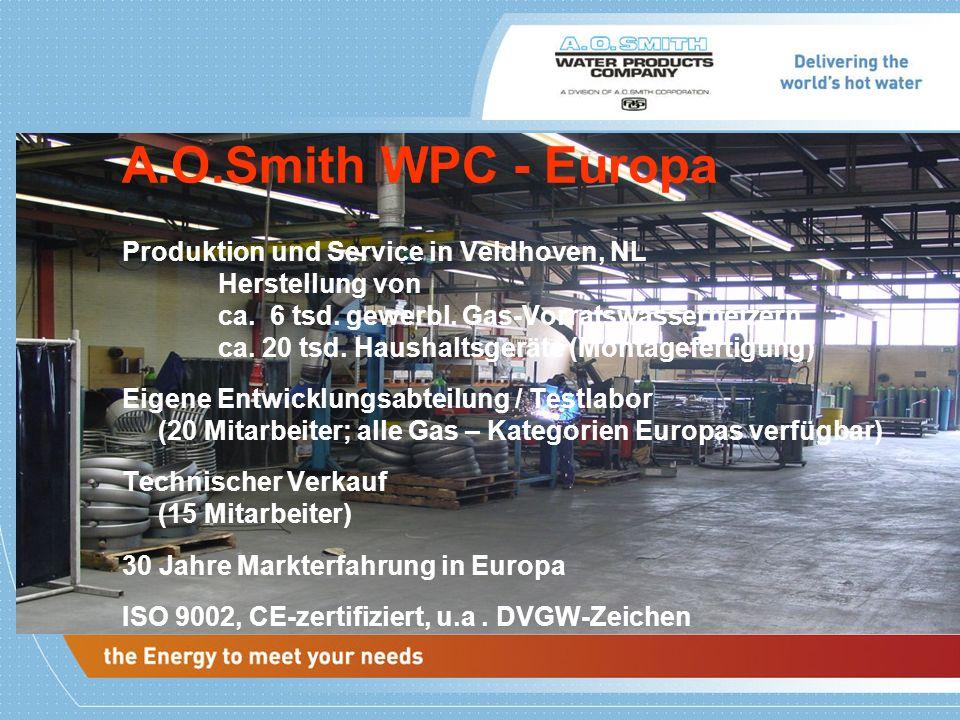 A.O.Smith WPC - Europa
