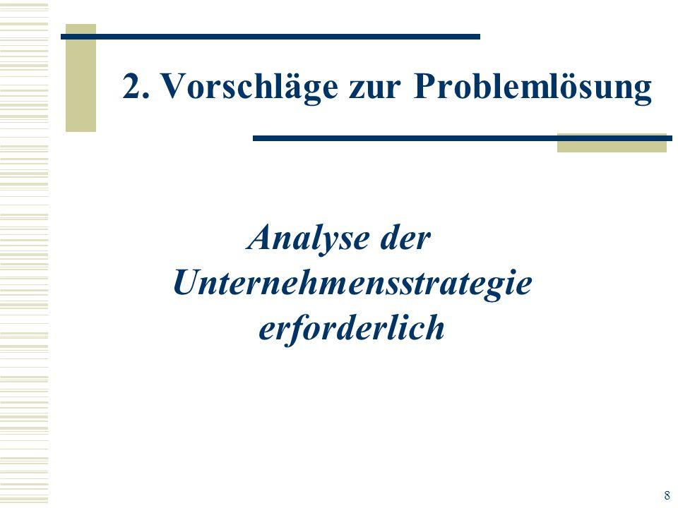 2. Vorschläge zur Problemlösung