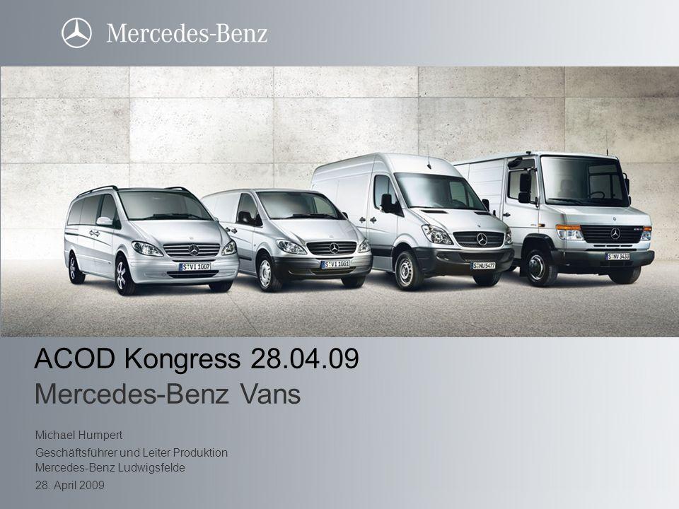 ACOD Kongress 28.04.09 Mercedes-Benz Vans