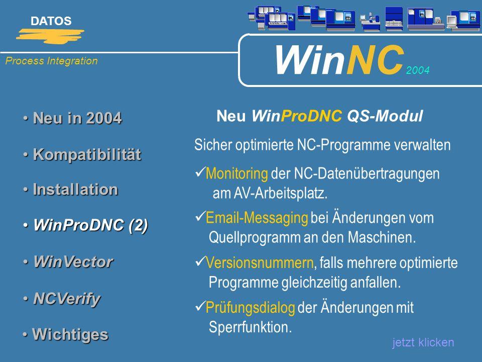 Neu WinProDNC QS-Modul
