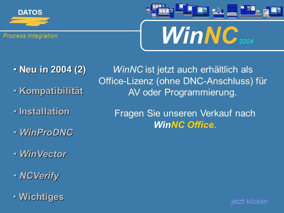 Fragen Sie unseren Verkauf nach WinNC Office.