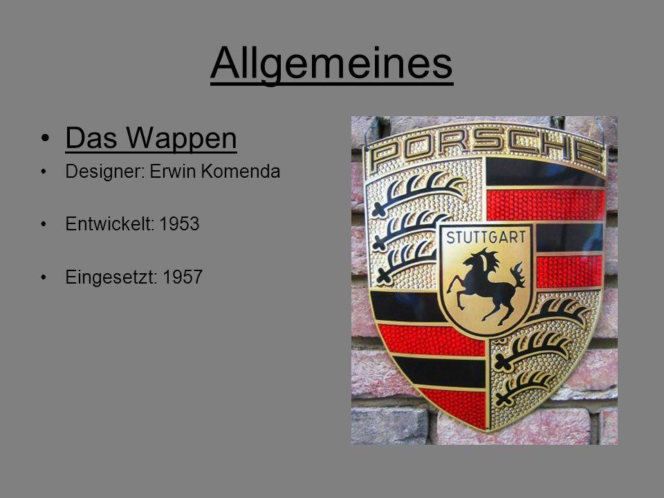 Allgemeines Das Wappen Designer: Erwin Komenda Entwickelt: 1953