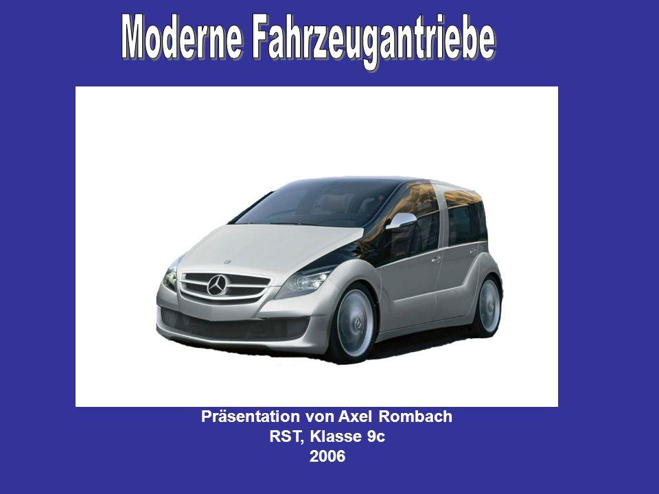 Moderne Fahrzeugantriebe