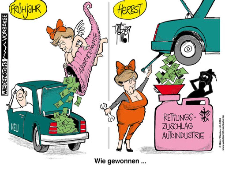 Problem: sozial-ökologischer Umbau statt plump Opel retten oder Pflege (doch vor der Wahl)