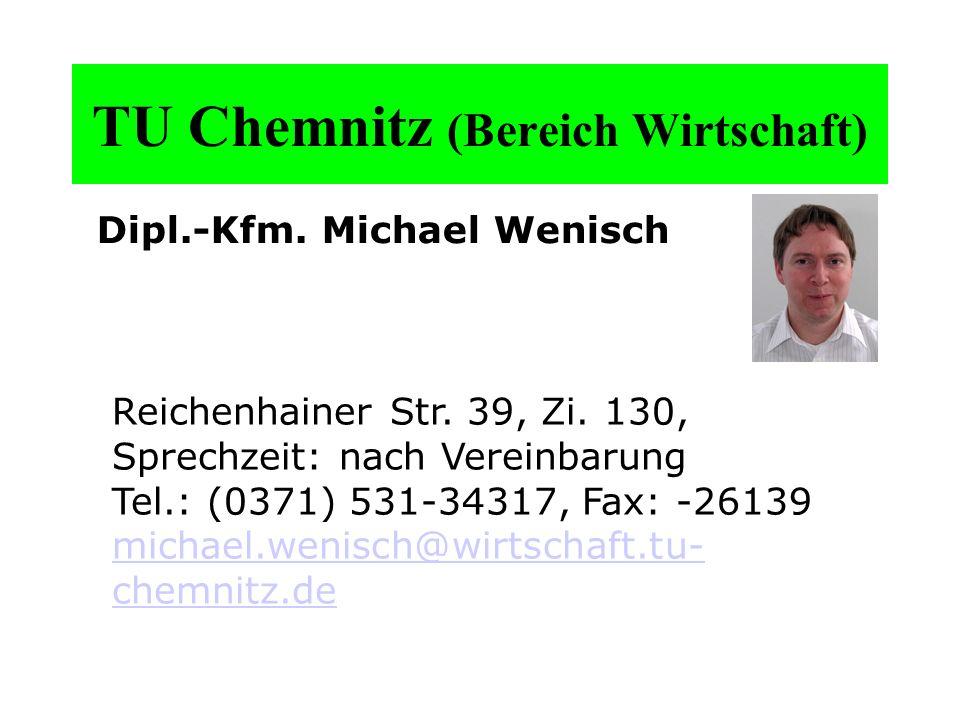 TU Chemnitz (Bereich Wirtschaft)