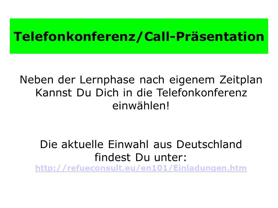 Telefonkonferenz/Call-Präsentation