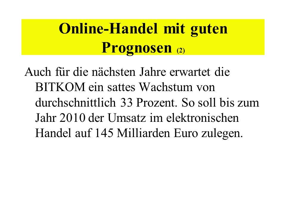 Online-Handel mit guten Prognosen (2)