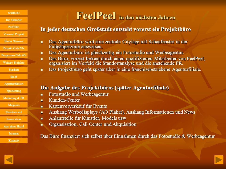 FeelPeel in den nächsten Jahren