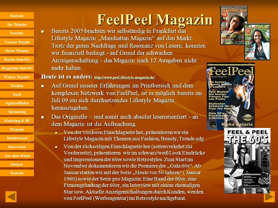 FeelPeel Magazin