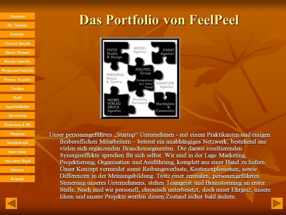 Das Portfolio von FeelPeel