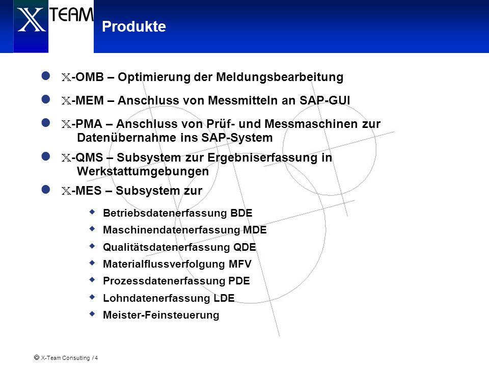X-OMB – Optimierung der Meldungsbearbeitung