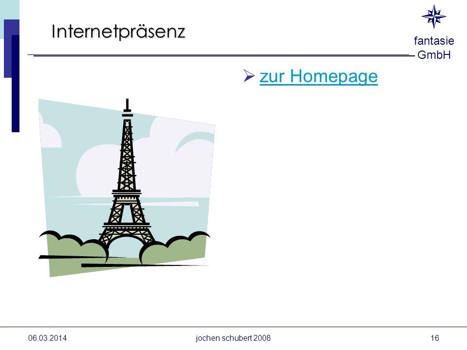 Internetpräsenz zur Homepage Schulung 28.03.2017 28.03.2017