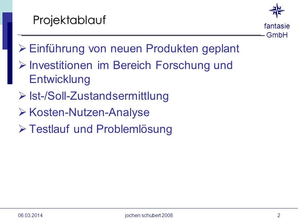 Einführung von neuen Produkten geplant