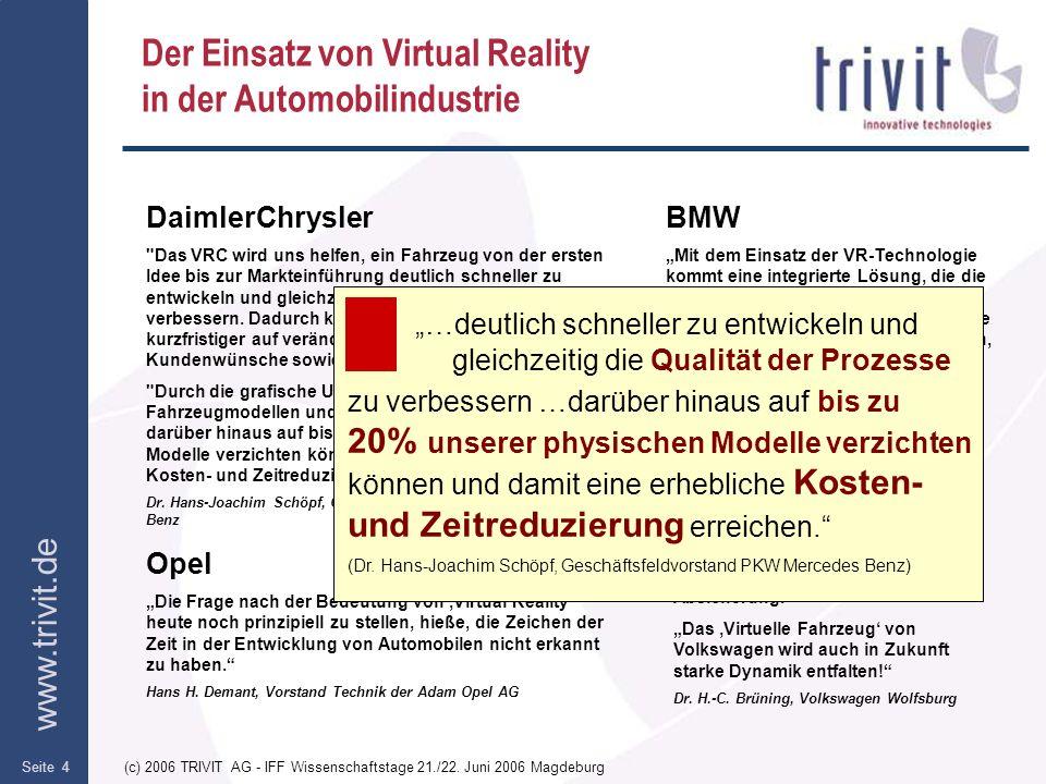 Der Einsatz von Virtual Reality in der Automobilindustrie