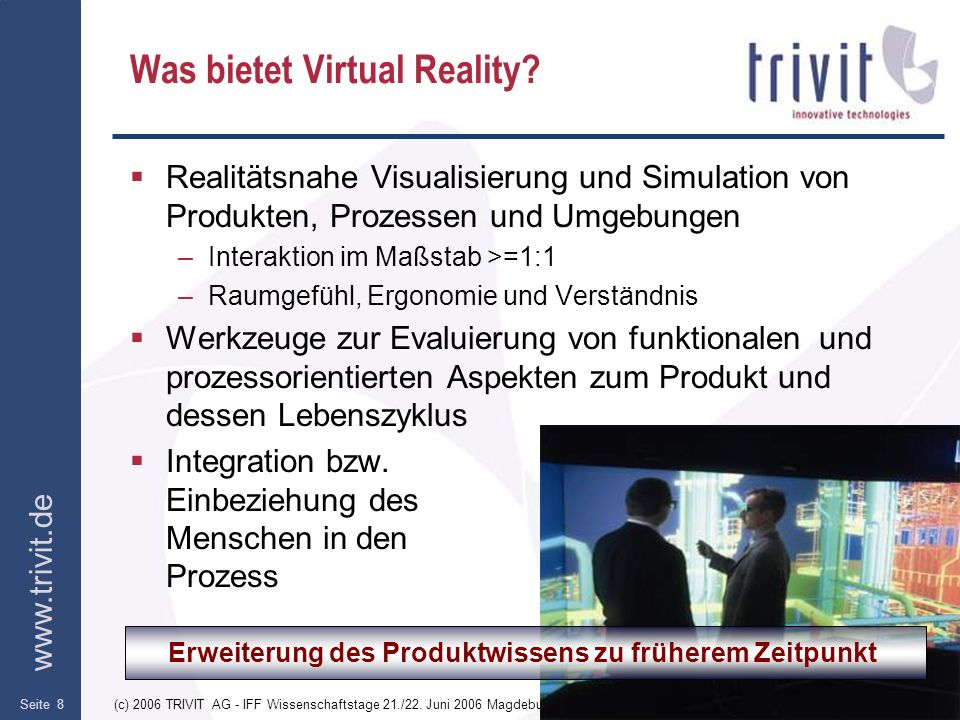 Was bietet Virtual Reality