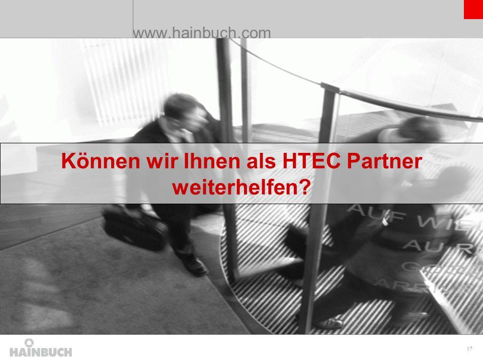 Können wir Ihnen als HTEC Partner weiterhelfen