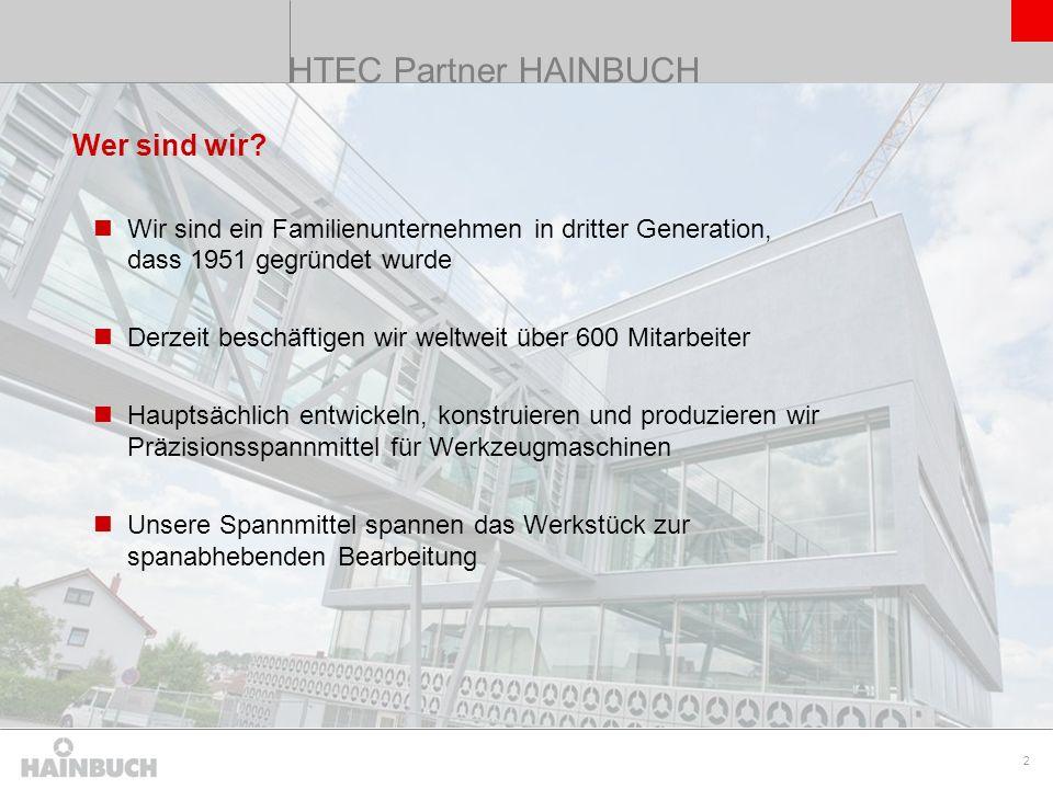 HTEC Partner HAINBUCH Wer sind wir