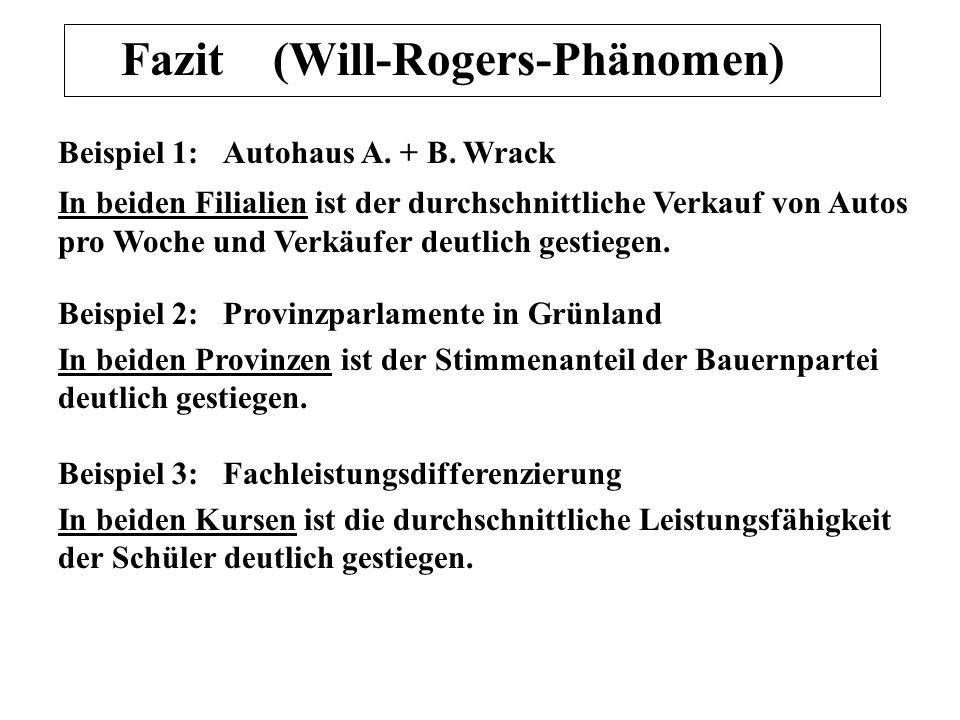Fazit (Will-Rogers-Phänomen)