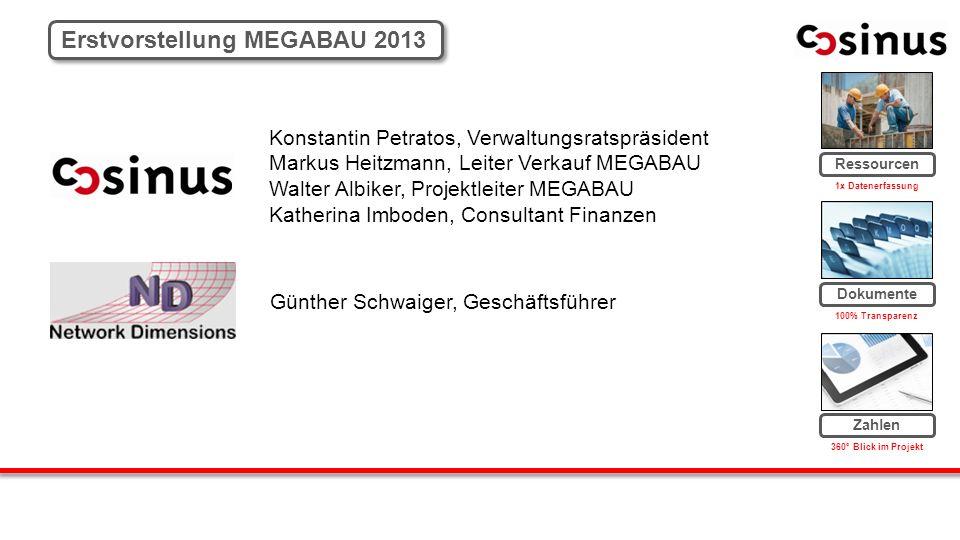 Erstvorstellung MEGABAU 2013
