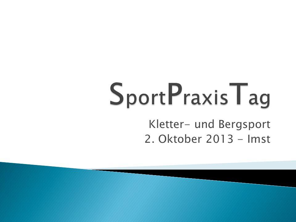 Kletter- und Bergsport 2. Oktober 2013 - Imst