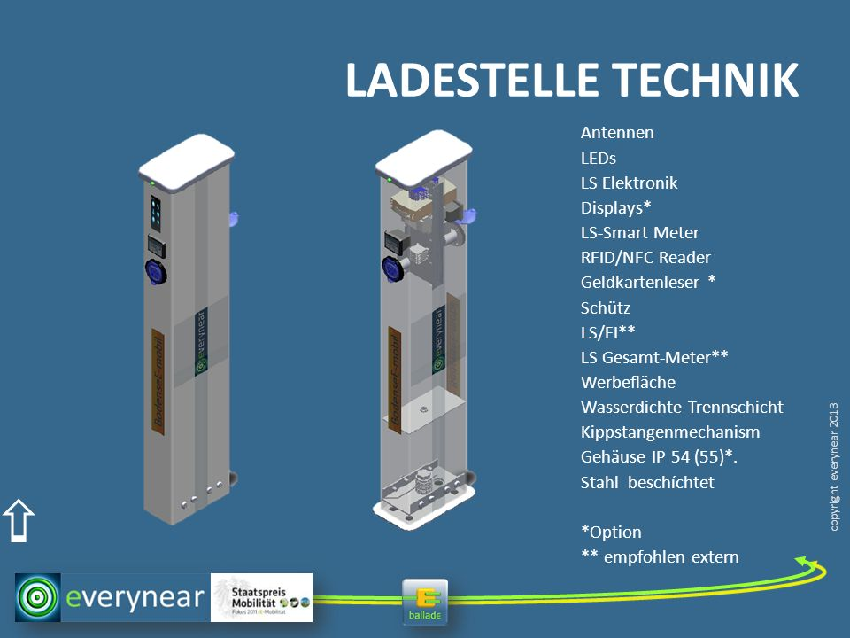 LADESTELLE TECHNIK