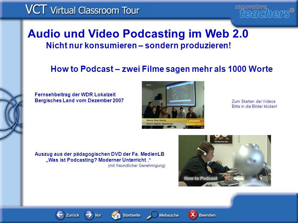 Audio und Video Podcasting im Web 2.0