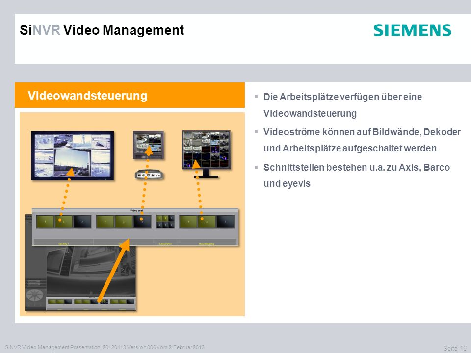 SiNVR Video Management