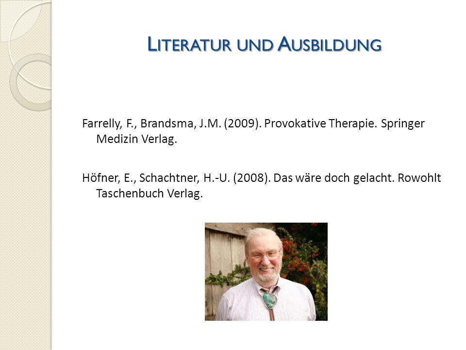 Literatur und Ausbildung
