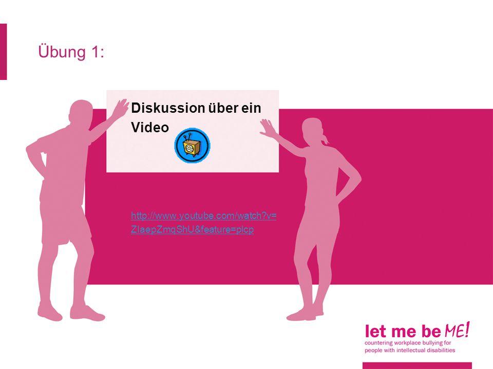 Übung 1: Diskussion über ein Video