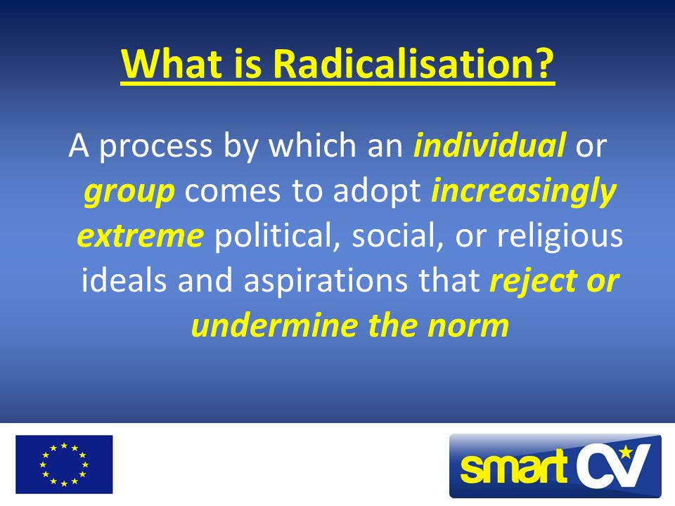 What is Radicalisation