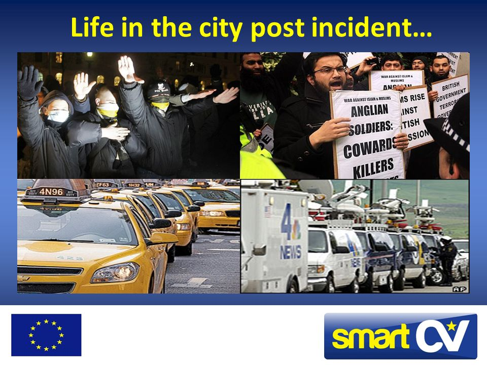 Life in the city post incident…