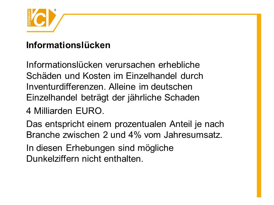 Informationslücken