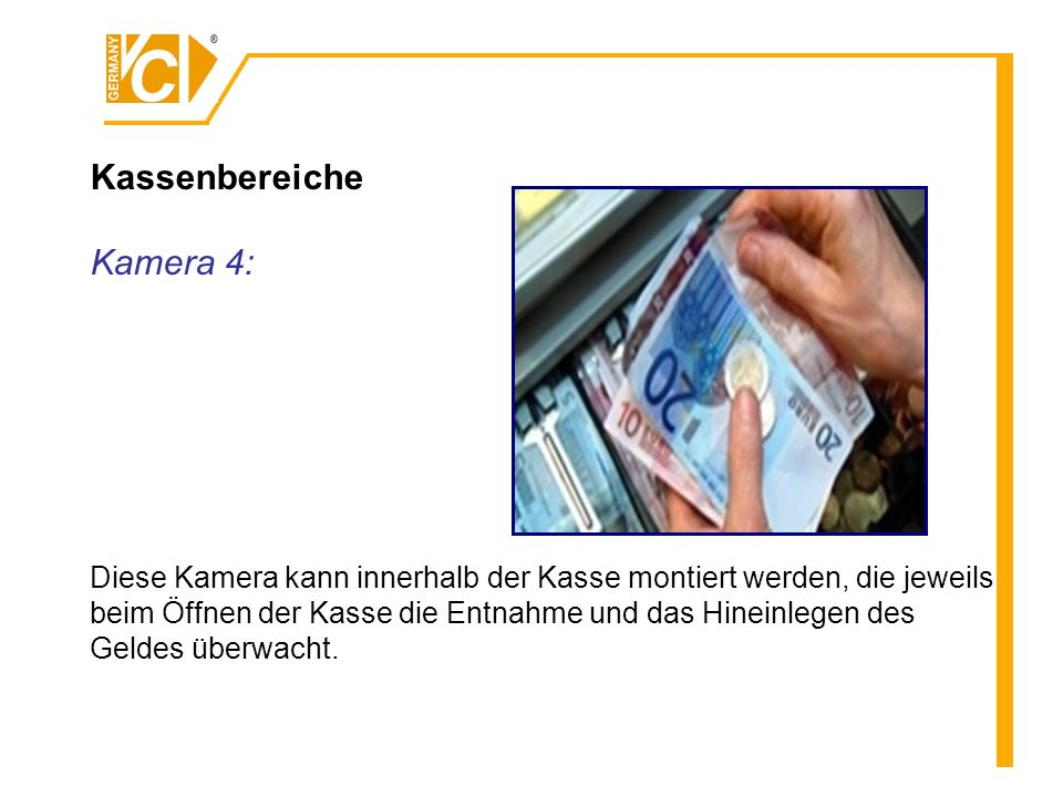 Kassenbereiche Kamera 4: