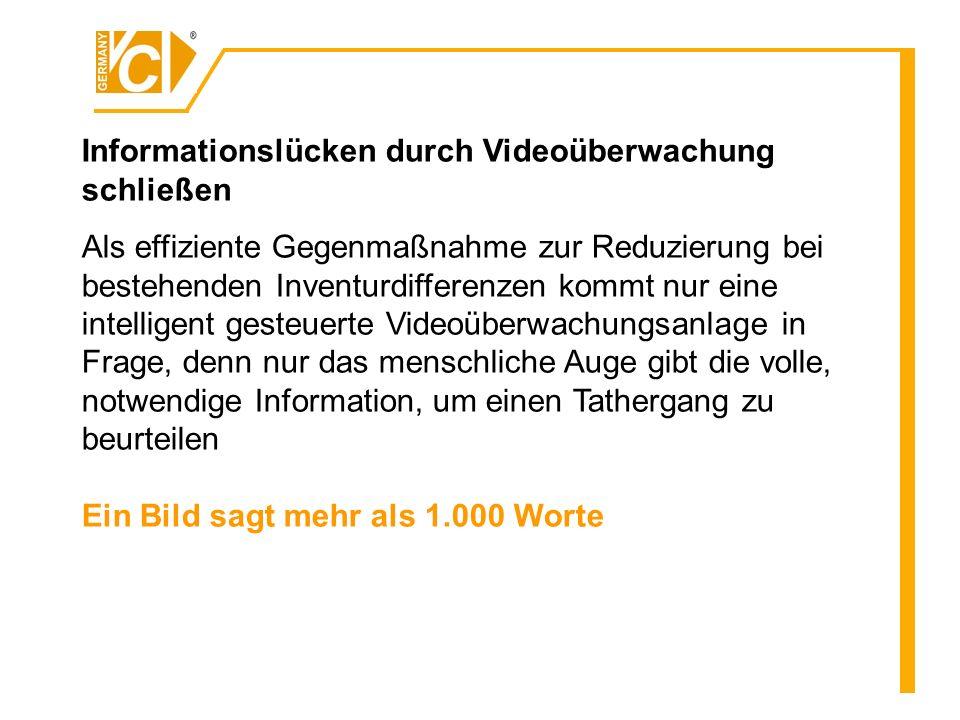 Informationslücken durch Videoüberwachung schließen