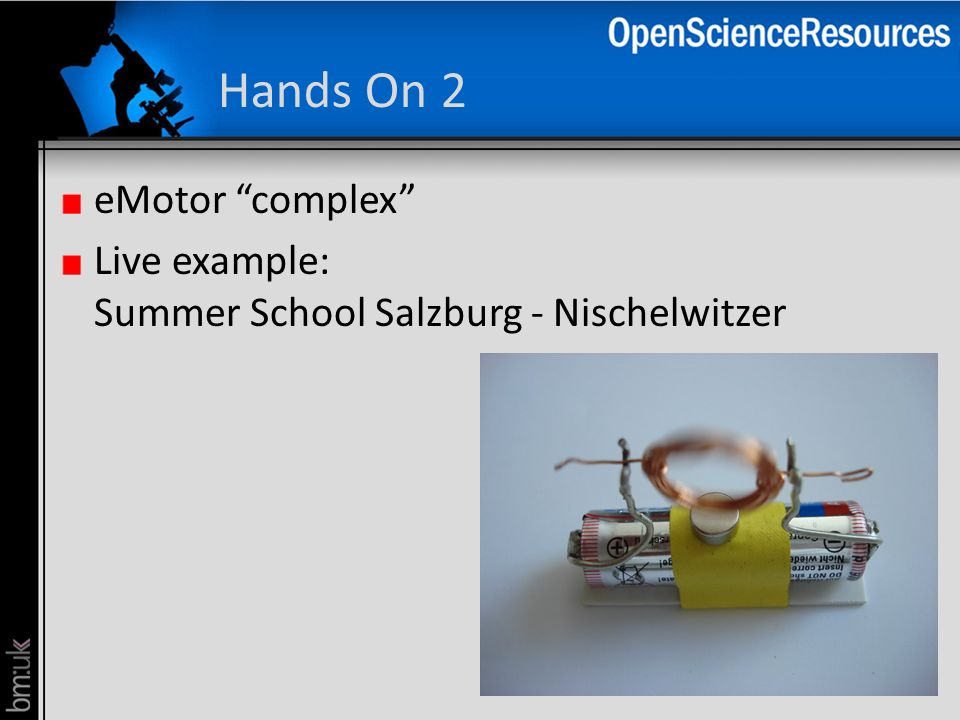 Hands On 2 eMotor complex