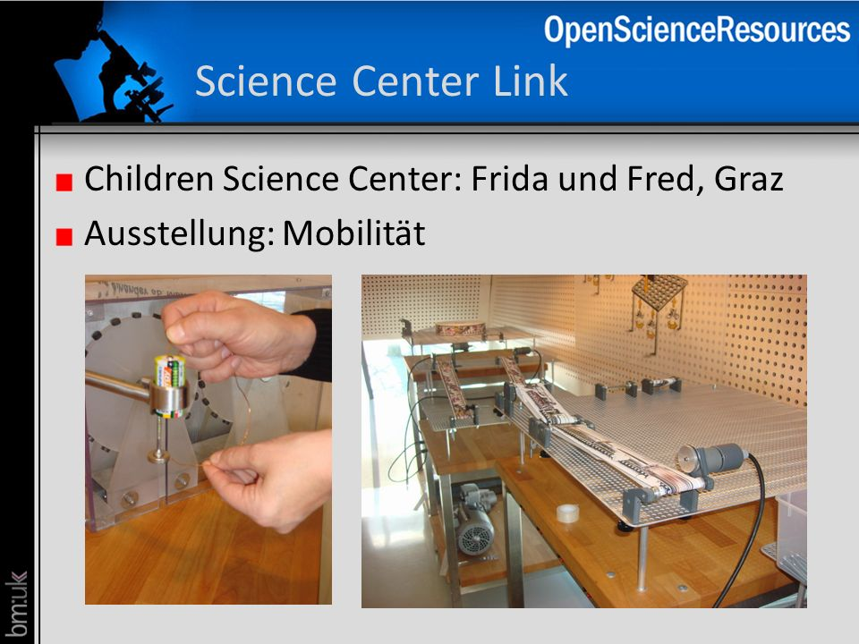 Science Center Link Children Science Center: Frida und Fred, Graz