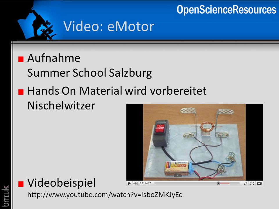 Video: eMotor Aufnahme Summer School Salzburg