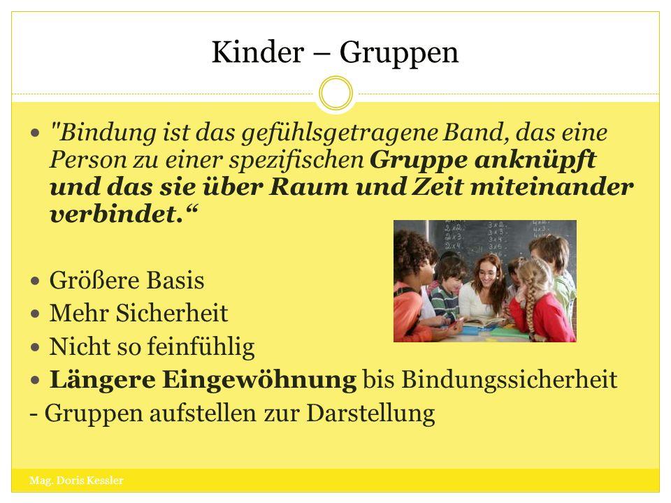 Kinder – Gruppen