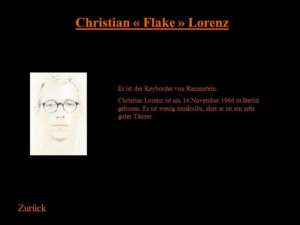 Christian « Flake » Lorenz