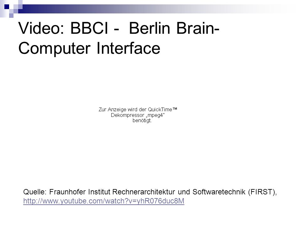 Video: BBCI - Berlin Brain-Computer Interface
