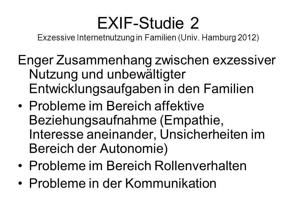 EXIF-Studie 2 Exzessive Internetnutzung in Familien (Univ