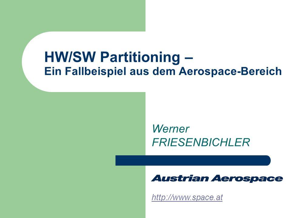 HW/SW Partitioning – Ein Fallbeispiel aus dem Aerospace-Bereich