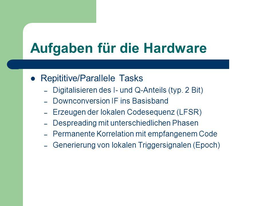 Aufgaben für die Hardware