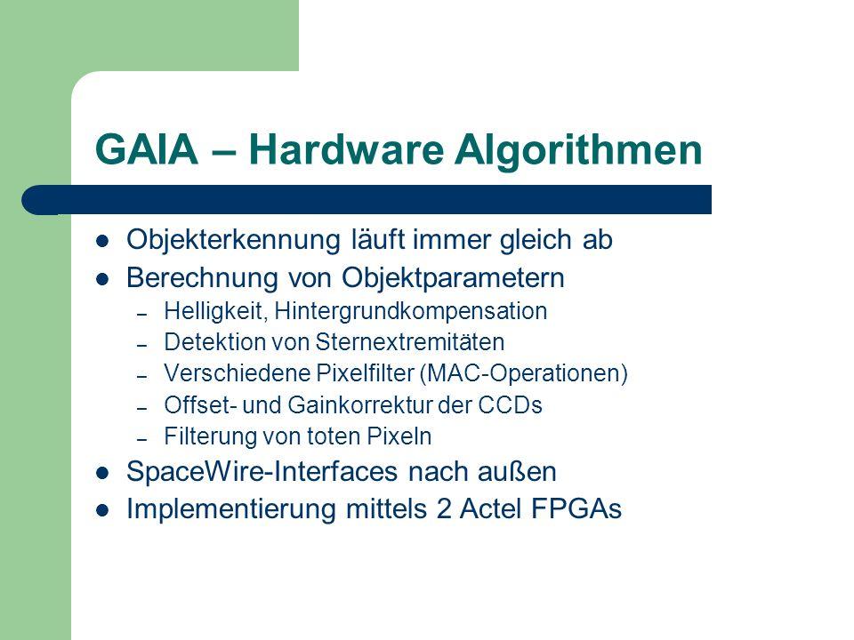 GAIA – Hardware Algorithmen