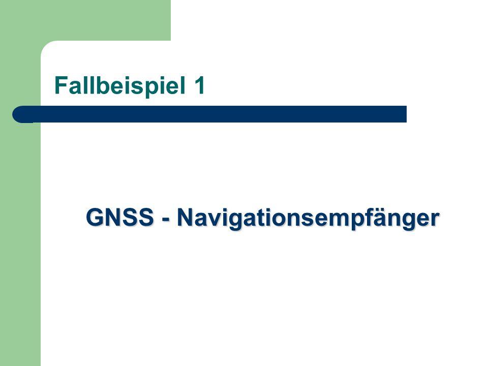 GNSS - Navigationsempfänger