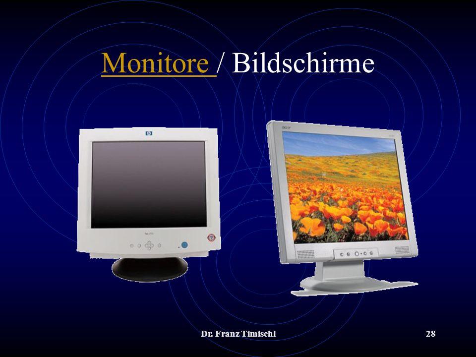 Monitore / Bildschirme