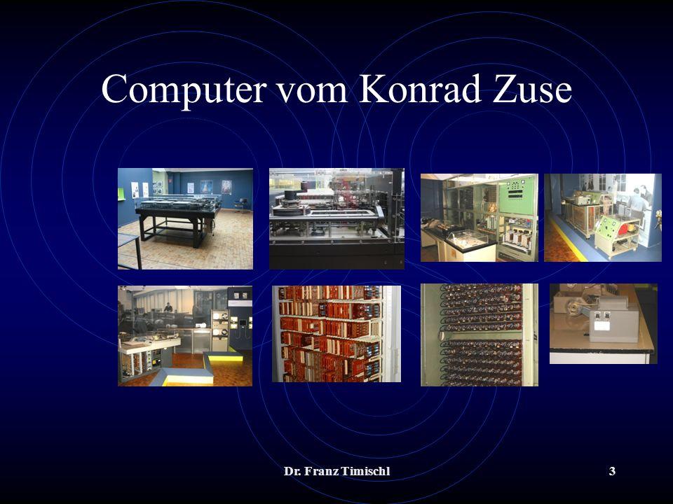 Computer vom Konrad Zuse