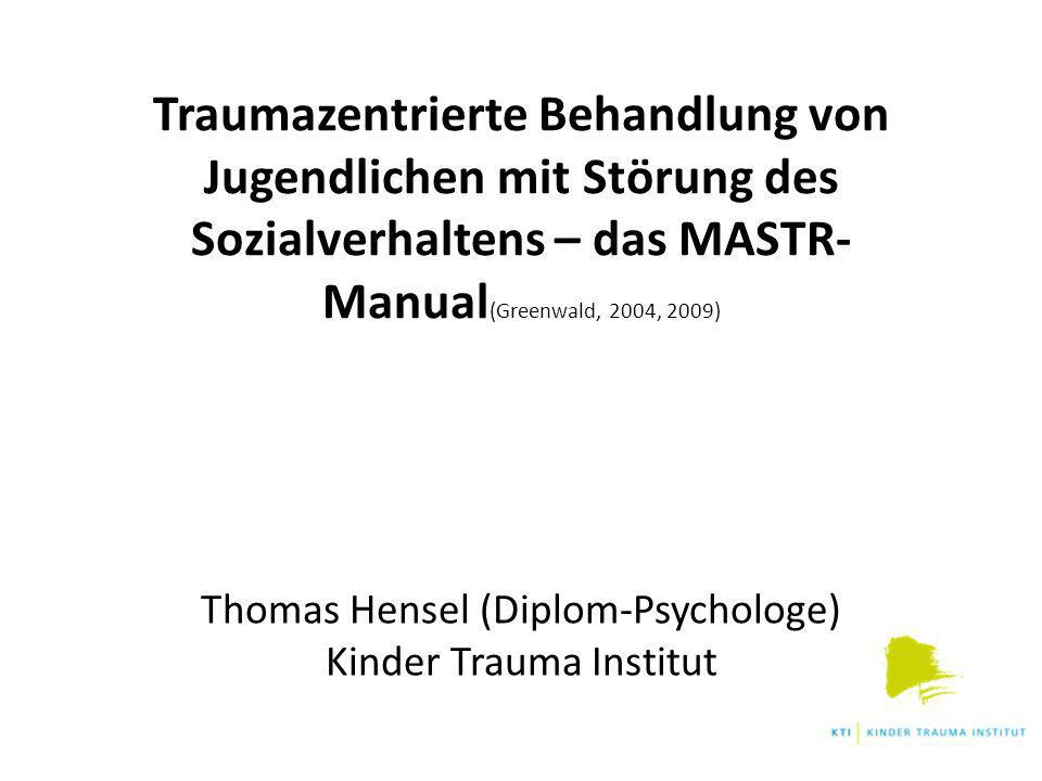 Thomas Hensel (Diplom-Psychologe) Kinder Trauma Institut