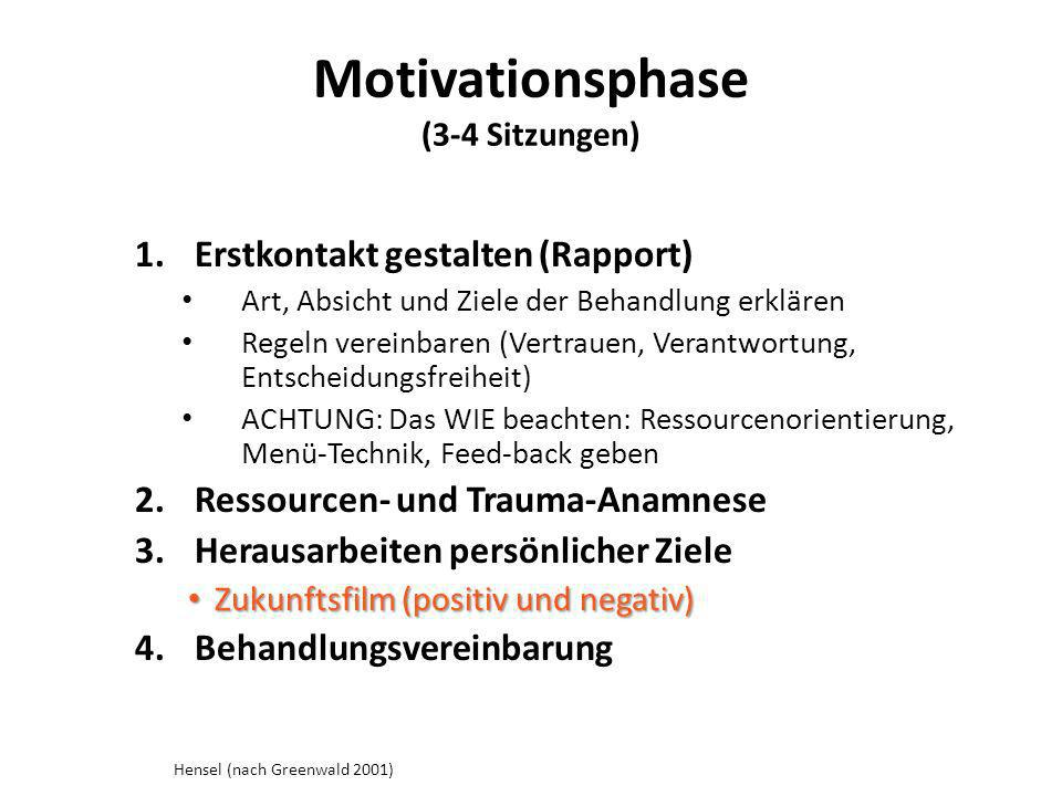 Motivationsphase (3-4 Sitzungen)